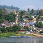 Лаос. Вид из Тайланда