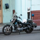 Железный конь кубинского полицейского