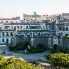 Вид на Гавану с колеса обозрения