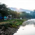 Рассвет на реке Паи